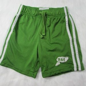 Abercrombie Kids Small Green Basketball Shorts